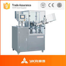 GFJX-3A Metallic Tube Filling and Sealing Machine for Gooey, AB Glue , Epoxy Adhesive