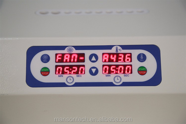 Manson PRP maschine LED/LCD display 10 Spritzen bio füllstoff instrument Plasma gel maker