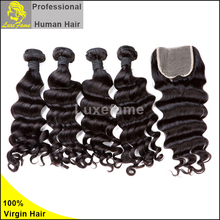 Alibaba No tangle no shedding nice hair styles short wavy original cheap wet and wavy human hair