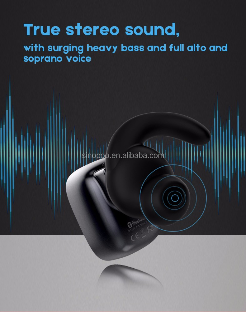 Wholesale Unique Design Q5 Dual-Wireless Bluetooth Earphone Ture Wireless Dual-Ear Bluetooth Stereo Headphone