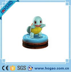 Small and lovely resin pokemon turtle character as children gifts