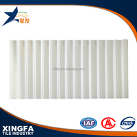 Greenhouse roofing material long span color coated corrugated roofing sheet UPVC roofing tile