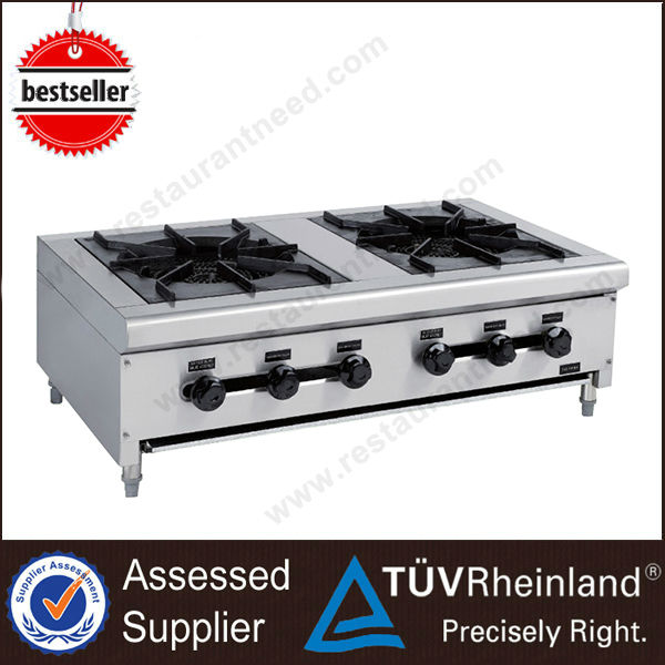 Hot Sale Kitchen Equipment Clay Pot Induction 2 Burner gas cooktop