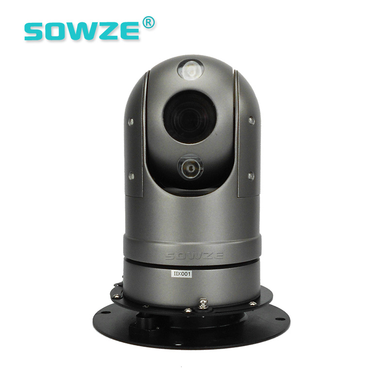 AHD 1.3MP High Speed Ir Night Vision Police Car Mounted Outdoor Ptz Camera