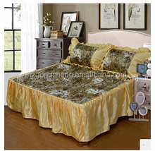 Factory Directly Provide High Quality Hotel Bedspreads