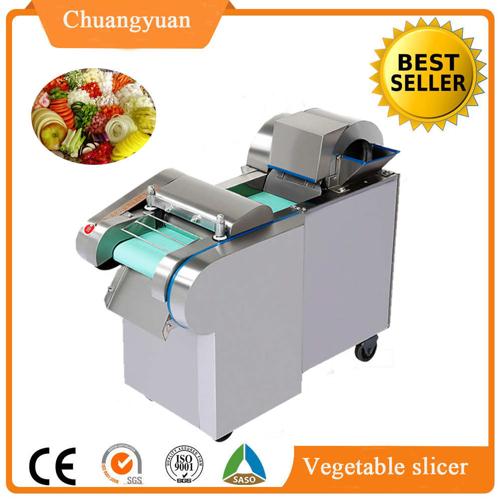 2017 type vegetable cutting machine/potato chips cutter / Industry large sweet potato cutting machine