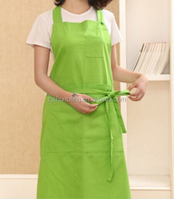 Product Promotion customized reusable cotton apron for ladies