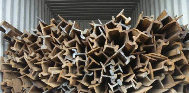 Heavy Ferrous Metal Scrap/Used Rail scrap