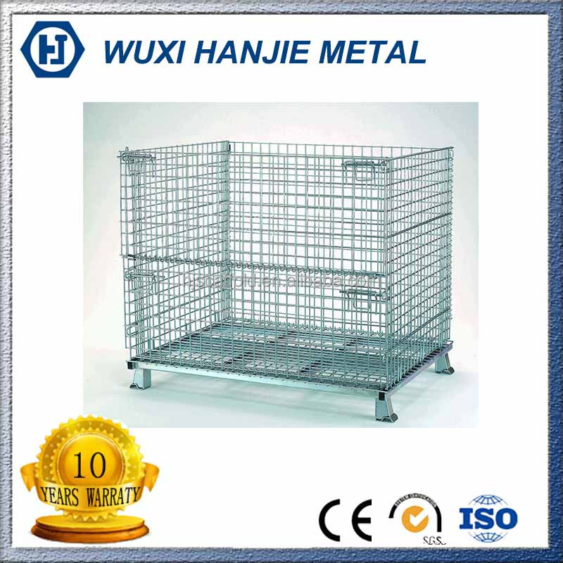 Well designed galvanized steel container welded wire mesh for storage
