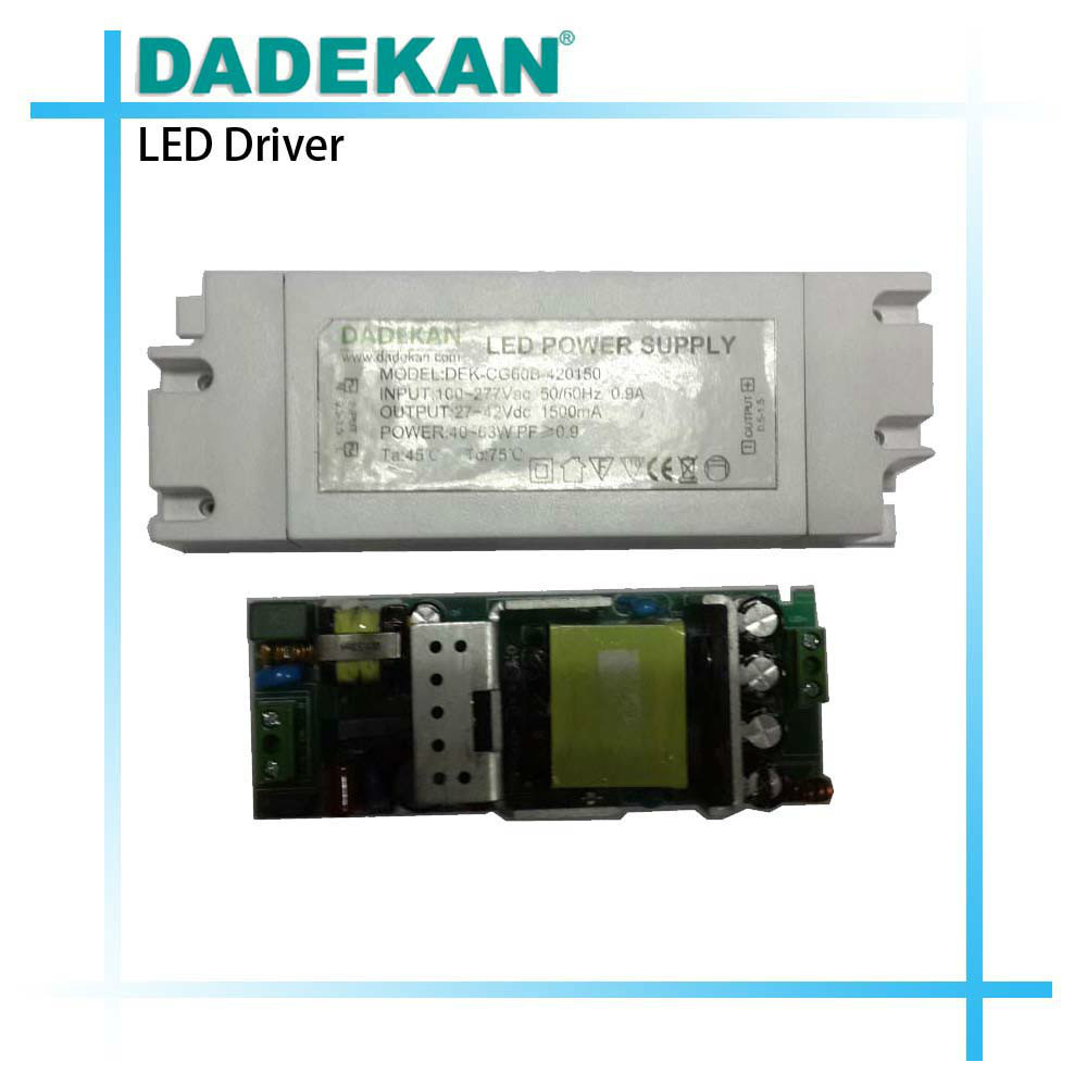 constant current external 1500ma led driver for led panel light