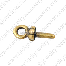 2016 New Antique Bronze Eye Screw Bail/Bails/ Eye/ Jewellery Making Wholesale