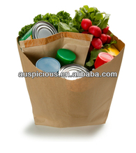 Packing tin cans kraft paper package bag fried chicken bag