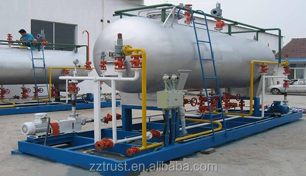 LPG Tank Fuel/Oil Tanker Semi Trailer with China making oil transfer tank for sale