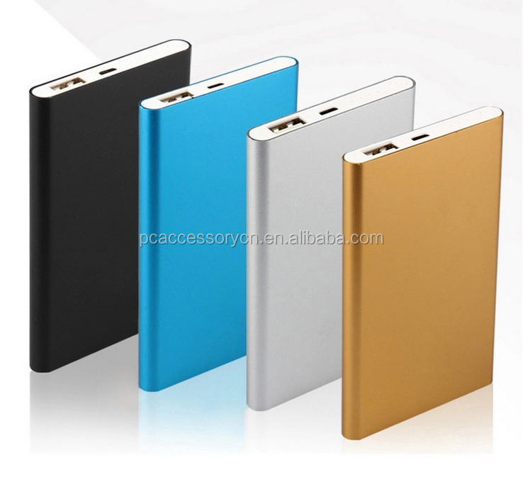 Fast mass production For Xiaomi Mi Silm Mini Powerbank Power Bank 5000mah