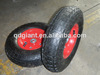 rubber coated wheel 4.00-6