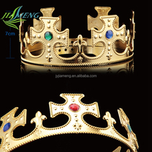 Cheap sale king and queen plastic crowns king and queen crowns
