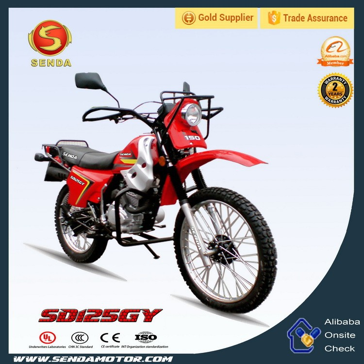 Cheap Automatic Off Road Dirt Bike 125cc Moto ( Brazil Dirt Bike ) HyperBiz SD125GY