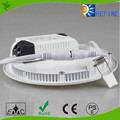 3 years warranty Ra80 panel light , CRI > 75 PF >0.9 80lm/w 15W 18W 24W slim light