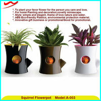 Promotional Hot Sale Squirrel Flowerpots Good