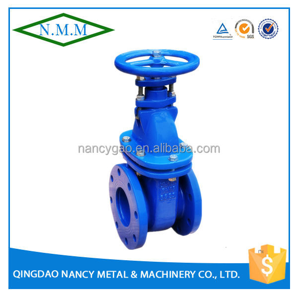 Cast Iron BS3464 Non-Rising Stem Gate Valve, PN10, Z45T-10