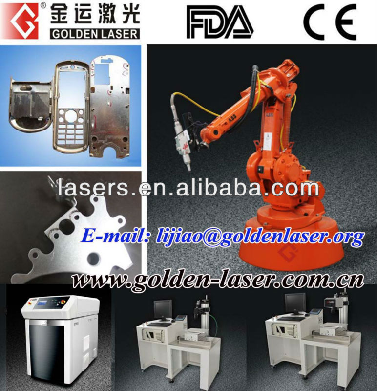 Metal Hardware Automated Cutting Machine/Fiber Laser 3D Cutting Robot Arm