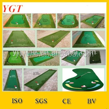 portable golf green /mini synthetic grass putting green