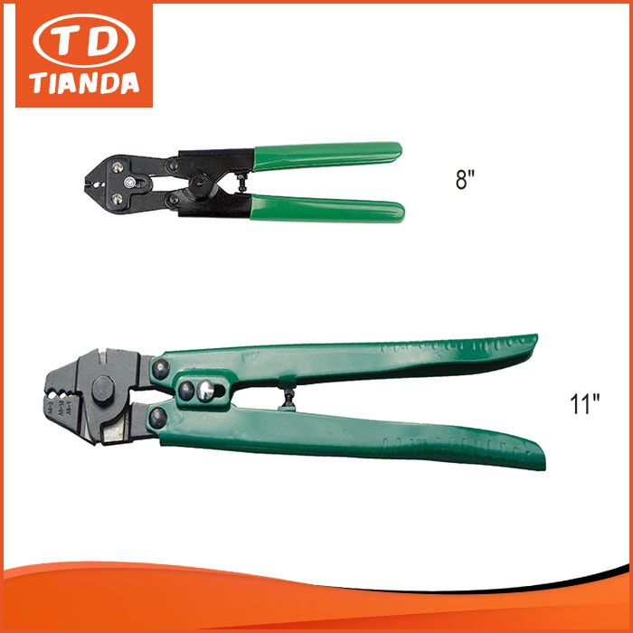Strict QC Manufacturer Steel Wire Rope Swage It Tool