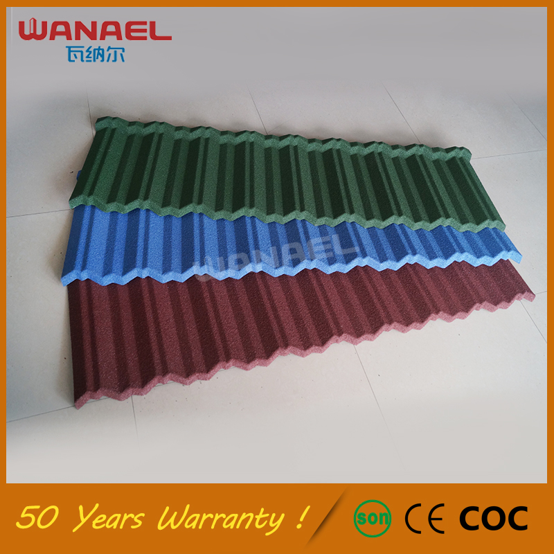 Stone Tile Free Sample Wanael Traditional Low Cost M Class Swiss Cheap Flat Roof Tiles, Galvanized Corrugated Iron Sheet