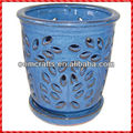 Perfect incredible blue wholesale Orchid Pot