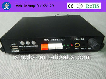 Factory supply truck vehicle mp3 music player XB-129 for wholesale