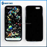 [Smart-Times] Liquid Glitter Bling Star Quicksand Handy Phone Case for Iphone 6 Smartphone Cover