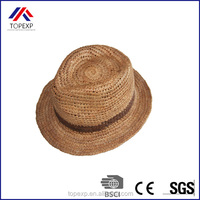 Cowboy Orange Straw Hat Straw Hat With Band
