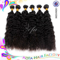 5AAAAA grade 100% virgin uprocessed 20 inch human hair weave extension no tangle no shedding