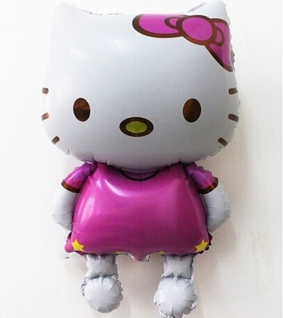 1pcs Big Size 116*68cm Hello Kitty Balloons Classic Toys Christmas Birthday Wedding Decoration Party inflatable air balloons