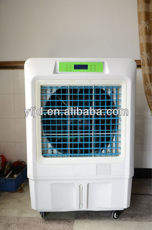 evaporative air cooler with wheels is 2013 new design by yaofeng company