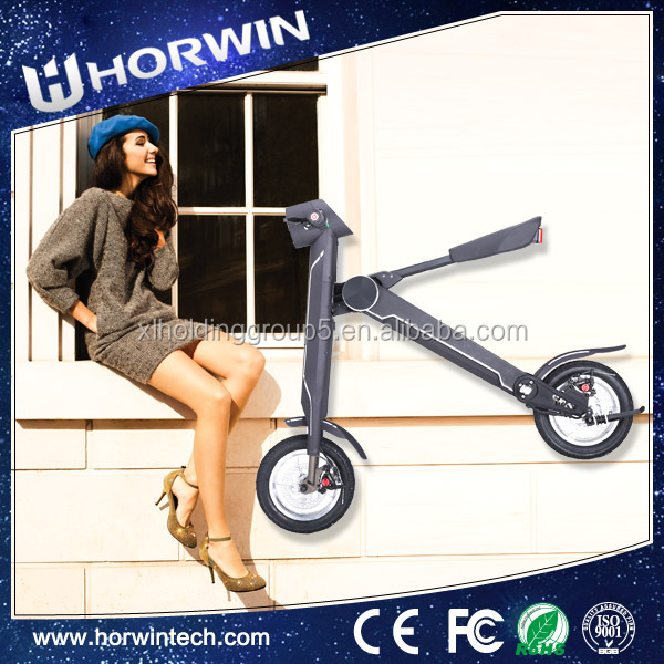 Battery Powered electric Foldable motorcycle folding <strong>2</strong> wheel balance scooter