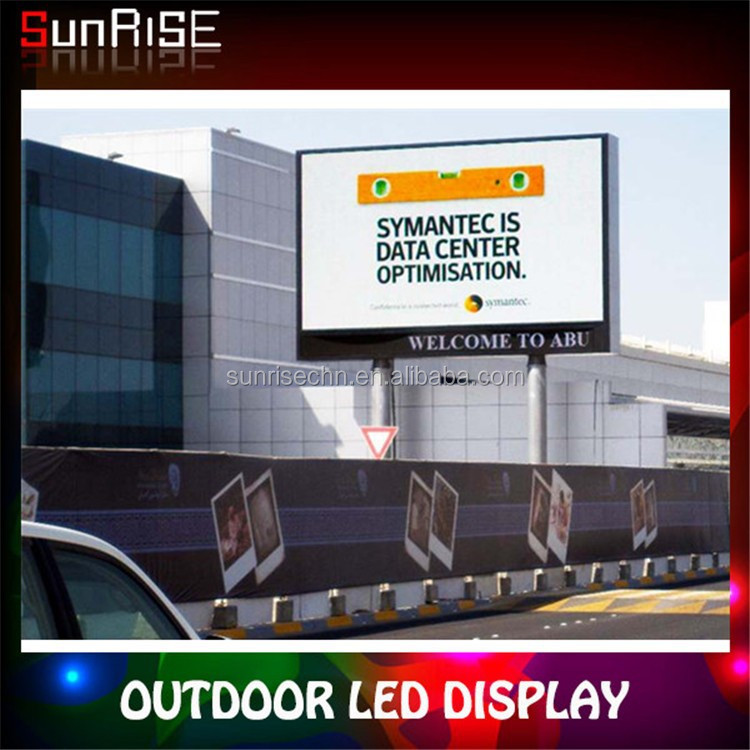 SMD p6,p8,p10 High brightness and definition advertising outdoor led large screen display billboard