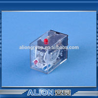 ac electromagnetic relay, on-delay time relays, time relay adjustment