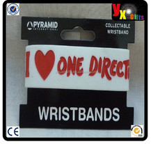 One Direction white Wristband - Pyramid International Great Stocking Filler - New/online shop