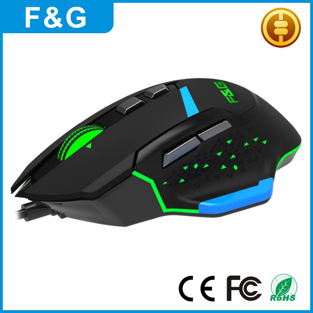 Backlit LED Computer Mouse Gagming Wire USB DPI Adjustable Computer Mouse For Laptop PC