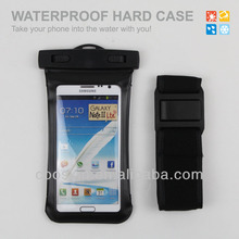 NEW Waterproof Case for Samsung Note 2 with armbrand,Easy to take off when you are doing sports