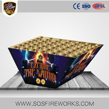 Wholesale consumer 1.2 '' 49 shots CE fan cake 1.4g un0336 fireworks
