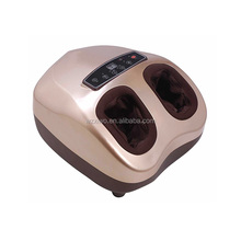 Electric air pressure roller foot leg massager