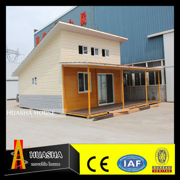 Delicate modern prefab cabin house with bathroom for sale