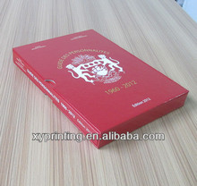 China professional factory printing hardcover book with dust jacket