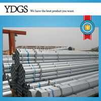 "2016 Hot Selling ! material tubing zinc coated ""10""""x3.75mm Hot dipped Galvanized Pipes"""
