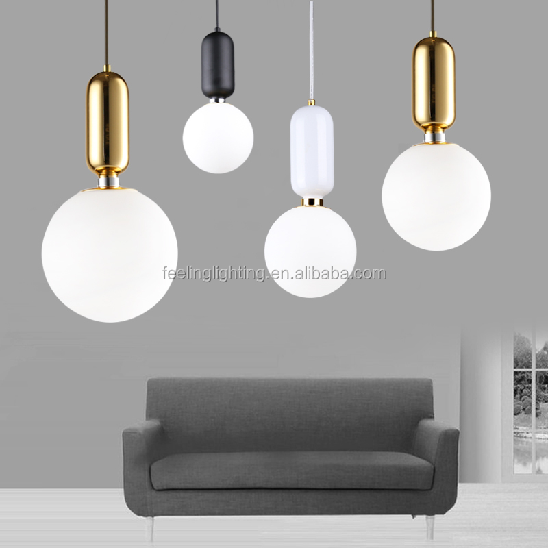 2017 Hotest style fashion modern decorative pendant light metal dinning room light