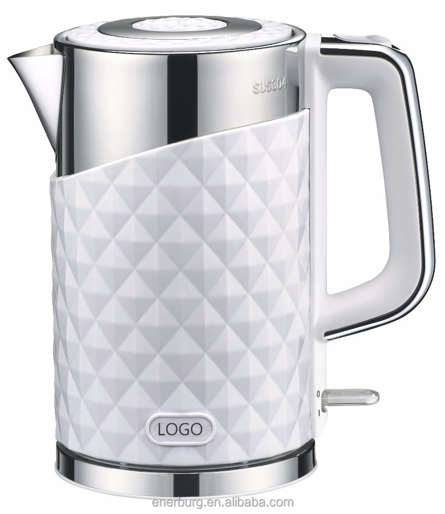 Luxury design Cordless Stainless Steel Electric Kettle with OTTER control