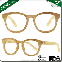High quality cheap wholesale bamboo eyeglasses frames