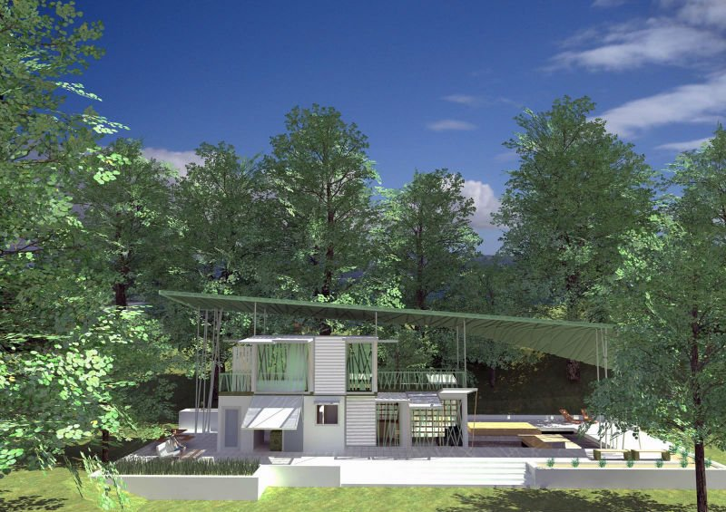 Resort Prefab House/Beach Movable Container House
